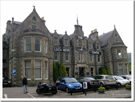 The Loch Ness centre in an old hotel building dated 1882.