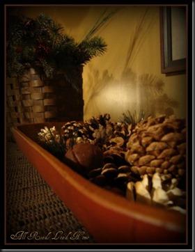 pinecones bedroom ARLH