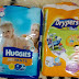 DRYPERS vs HUGGIES !!
