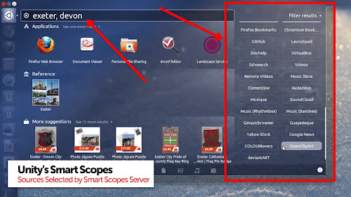 Smart Scope in Ubuntu 13.04 Raring