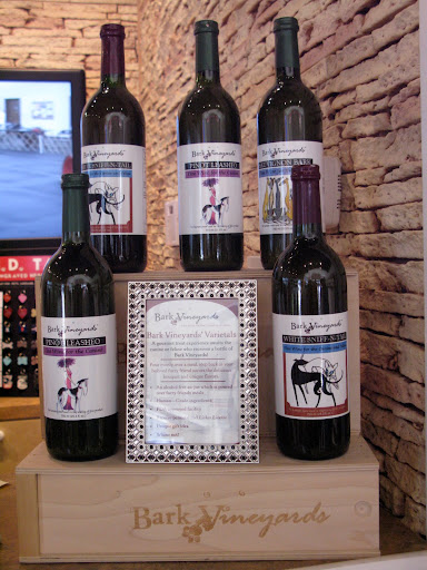 Oh look - they even carry Bark Vineyards!  It's not really wine, but delicious gravy to pour over meals.