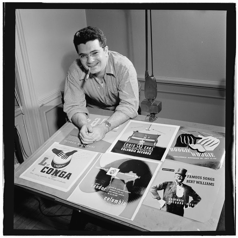 Alex Steinweiss, New York, N.Y.(?), ca. Apr. 1947 photo William P. Gottlieb.jpg