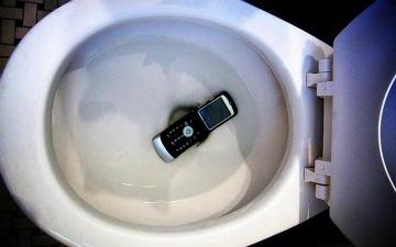Kerosakan telefon bimbit disebabkan air?
