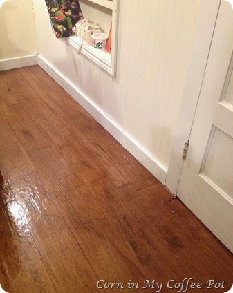 floor trim and paint
