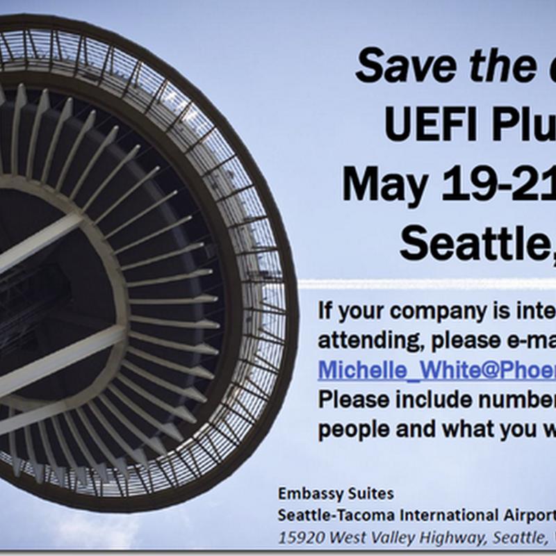 Spring 2015 UEFI Plugfest | Seattle, WA