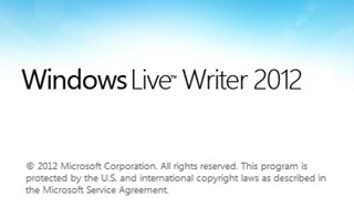 windows live writer 2012 logo