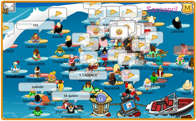 club penguin times to meet mack and brady