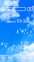 Screenshot of Cute wallpaper★Melody sky