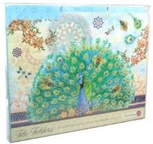 Royal peacock file folders