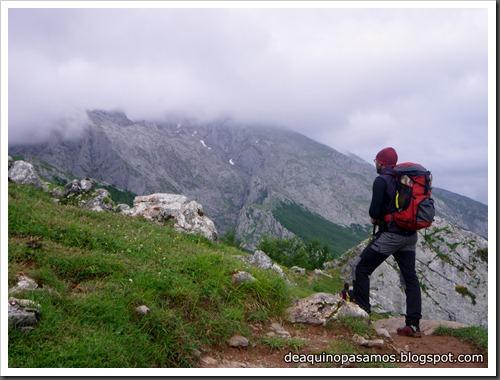 Via Directa de Los Martinez 250m D- V- (Picu Urriellu, Picos de Europa) (Isra) 1145