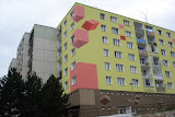 Another example of Czech's trying to make Soviet-era concrete housing more cheery