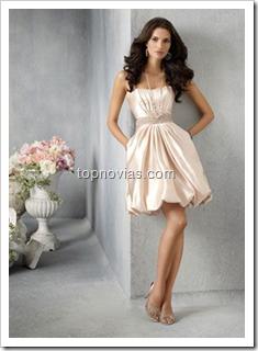 Vestido para Novia Civil Elegante y comodo