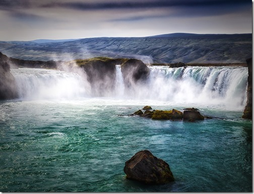 GODAFOSS WATERFALLS ICELAND by SUE CHAPMAN P2