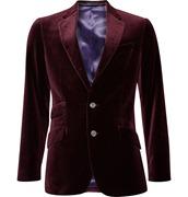Paul Smith London Slim Fit Velvet Jacket