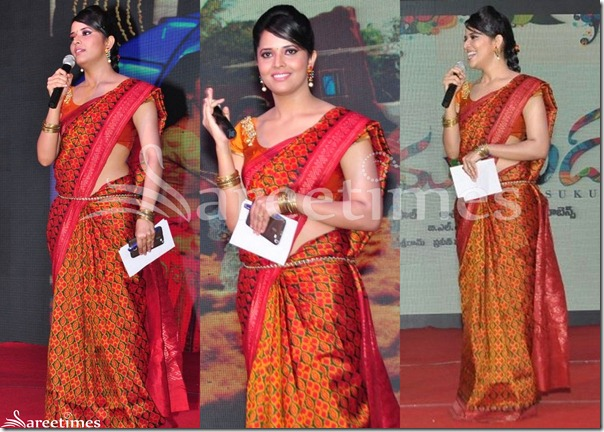 Anasuya_Silk_Saree
