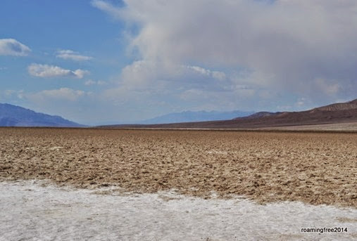 Badwater Salt Flats - the lowest point in North America