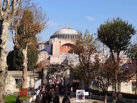 Obiective turistice Istanbul: Catedrala Sfanta Sofia