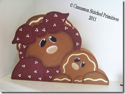 PRAIRIE BLESSINGS wood gingerbread mama n baby 8-20-11 (1)