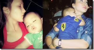 Gambar bayi Jue Aziz yang comel dan tembam 11