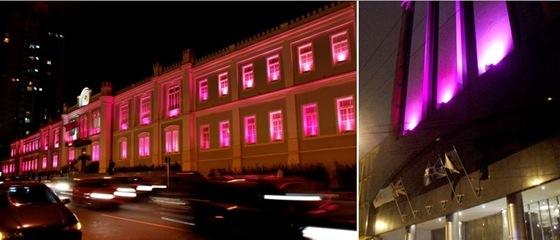Outubro Rosa - Shopping Curitiba e Crowne Plaza