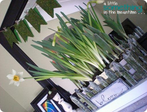 Spring Mantel Tilted