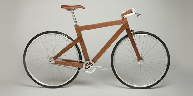 wooden bike by lagomorph design