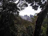 The huge granite peaks of Kinabalu (Daniel Quinn, July 2011)