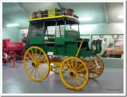 Imagine travelling over the Southern Alps in this horse drawn coach.