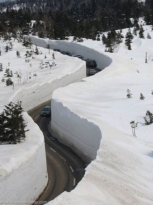 parede de neve 20 metros japao desbaratinando  (4)