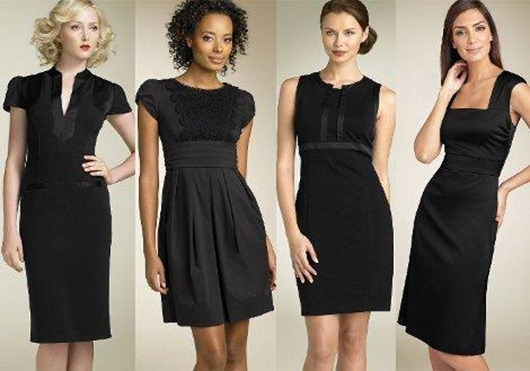фото маленькое черное платье эро