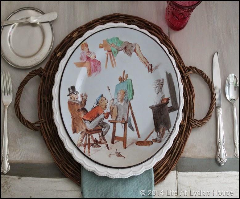 Parisian Plate 4