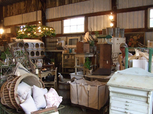 Liz 39s always gorgeous space inside the barn