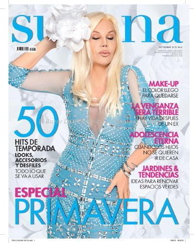 Revista susana septiembre 2013 el bazar del espect culo for Revistas del espectaculo
