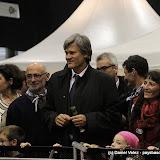 Michel Berhocoirigoin à sa droite, Maryse Cachenaut à sa gauche le ministre Stéphane Le Foll était bien entouré