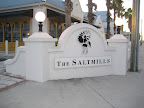 We pedaled over to the nearby shopping area called The Saltmills to pick up some souvenirs.