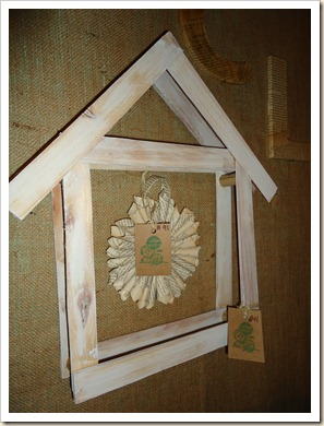 bird house frame