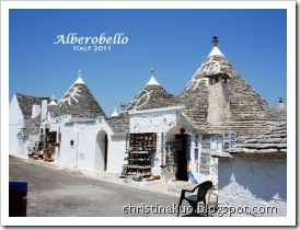 【Italy♦義大利】Alberobello 阿爾貝羅貝洛 - 充滿可愛尖頂石屋 trulli 的寧靜小鎮
