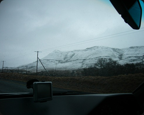 Eastern Cape Snow 2012, Road from Queenstown to Sterkstroom 12