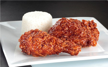 Crispy Glazed Chicken
