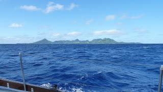 Land in Sicht! Matuka, Fiji.