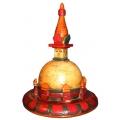 Wooden small stupa