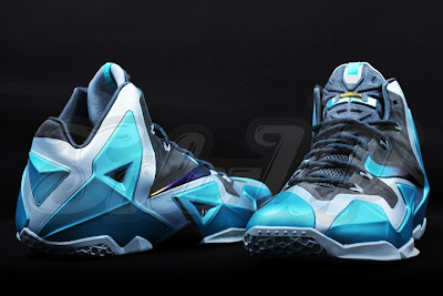 nike lebron 11 gr gamma blue 3 02 Detailed Look at the Gamma Blue Nike LeBron XI (616175 401)