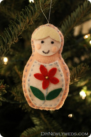 diy matroyshka ornament