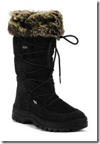 Calzat Fur Trim Snow Boot