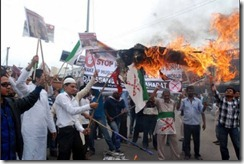 Islamist protesters Arakan 2