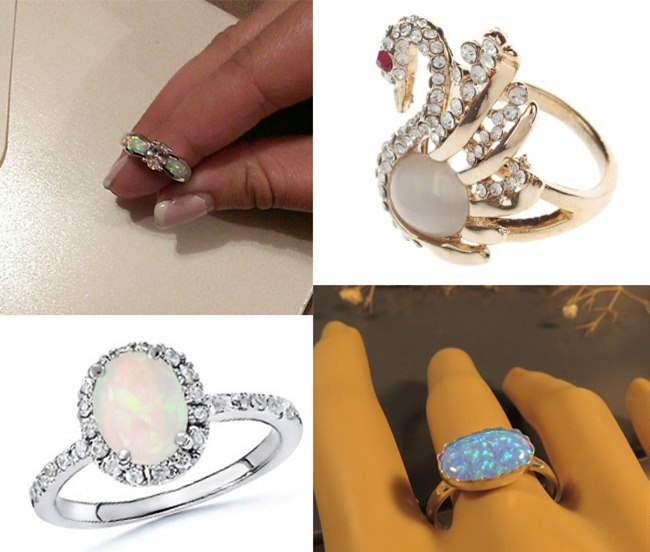 Fashionable Opal Rings