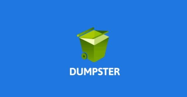 برنامج إعادة الملفات المحذوفة لأندرويد Dumpster - Recycle Bin