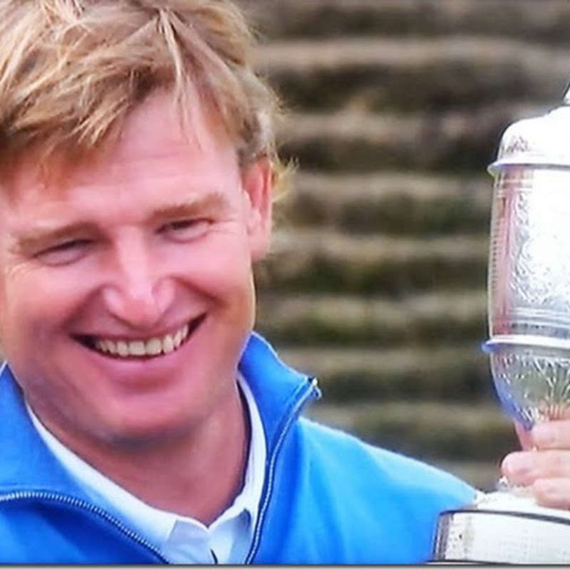 Well Done Ernie Els Open Champion