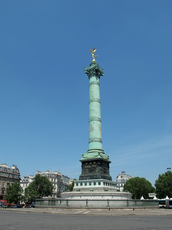 Paris France Place de la Bastille Jessica Robinson Life The Epic Journey 2012