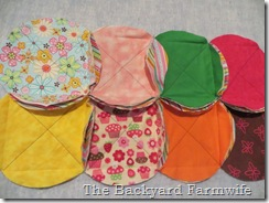 circle raggedy quilt -The Backyard Farmwife
